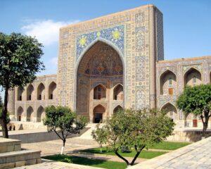 مدرسه طلاکاری میدان ریگستان