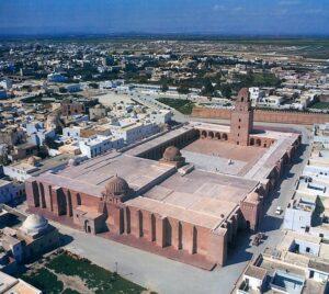 معماری مسجد جامع و تاریخی قیروان