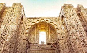 معماری مسجد تاریخی حکیم