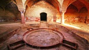 معماری گرمابه یا حمام